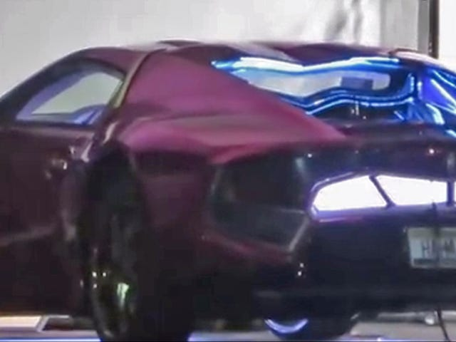This Is (Almost Definitely) The Joker's Crazy Car In Suicide Squad