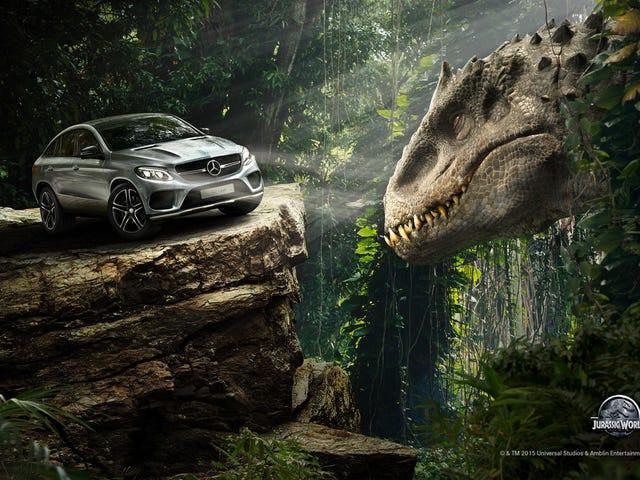 Jurassic World ya cobra en la colocación de un producto terrible