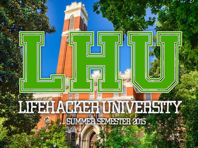 Плануйте своє безкоштовне онлайн-освіта на Lifehacker U: Літній семестр 2015