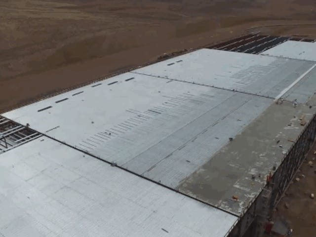 Check Out This Drone's-Eye-View Of The Tesla Gigafactory