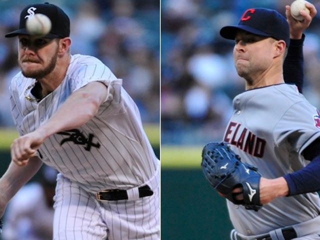 Who Needs Hitting When You've Got Corey Kluber And Chris Sale?