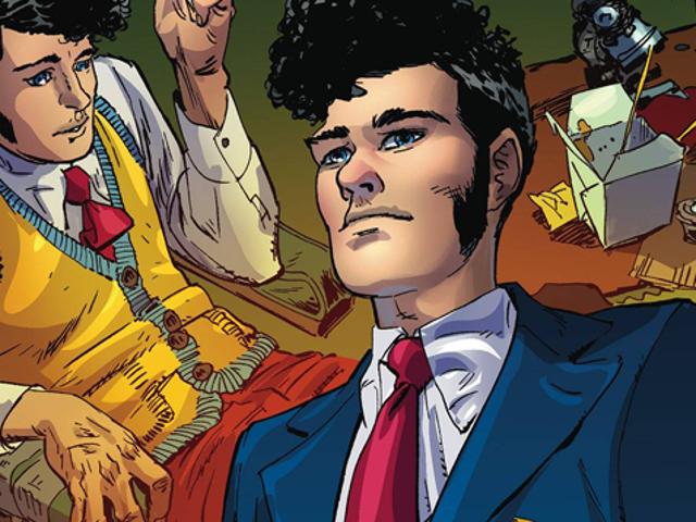 Holistyczny detektyw Douglasa Adamsa przychodzi po raz pierwszy do komiksów!