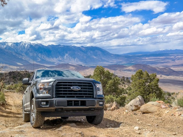 Off-Roading Above 10,000 Feet In The 2015 Ford F-150 FX4