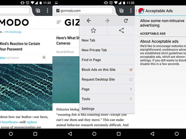 Adblock Browser Righteously Fends Off annonser på din Android Phone