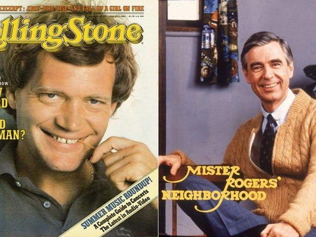 David Letterman vs. Mr. Rogers: kaksi miettiminen mieheydestä