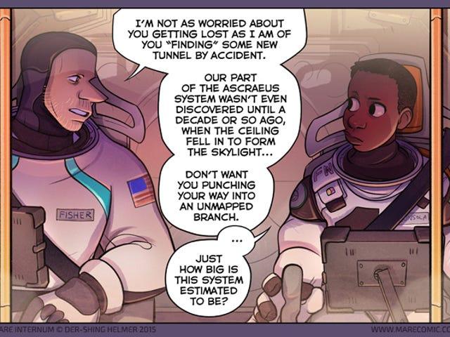 Một Webcomic về một nhà nghiên cứu sao Hỏa bất mãn bạn cần bắt đầu đọc