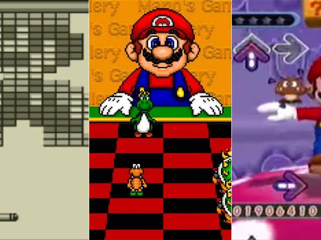 A Look at Adding Mario to Non-Mario Games