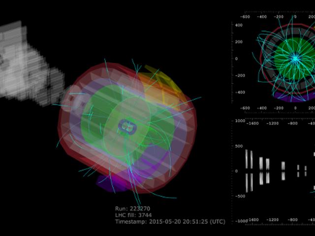 大型强子对撞机刚破坏了以前的能源产出记录