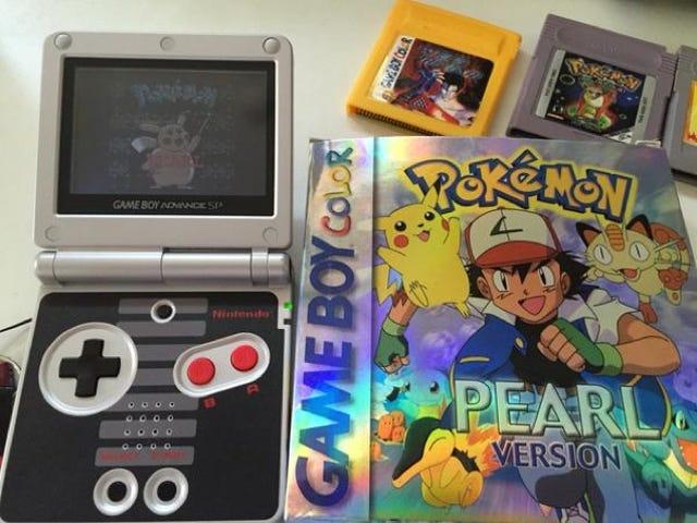 <i>Pokémon Pearl</i> 는 대만에서 조금 달랐다.
