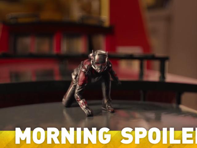 Est <i>Ant-Man</i> ce qu&#39;un Set LEGO de <i>Ant-Man</i> révèle un Aileron majeur?