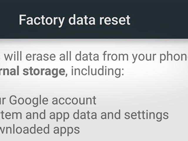 Peringatan: Telefon Android Masih Boleh Meninggalkan Data Rentan Selepas Set Semula