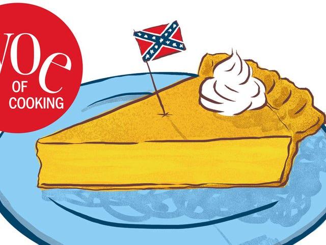 Ποιος είναι για κάποια περίεργα ψητά κρέατα και Jefferson Davis Pie;
