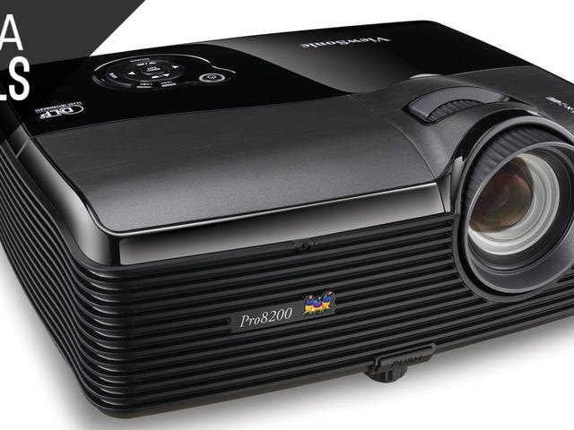 Start Building an In-Home Movie Theater With This Discounted Projector