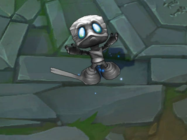 As promised, the League of Legends players who are fed up with Riot's overpriced skin recolorings kn