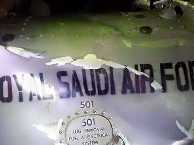 Was A Saudi Arabian Fighter Jet Shot Down Over Sana'a Yemen?