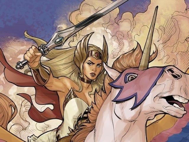 Hver She-Ra: Princess of Power Figur, ranket