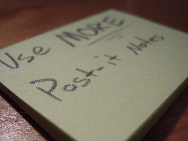 Persuadez les gens de terminer leurs tâches avec des notes autocollantes personnalisées