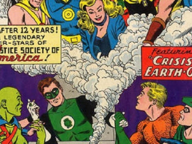 A History of DC Crossovers: The Silver Age