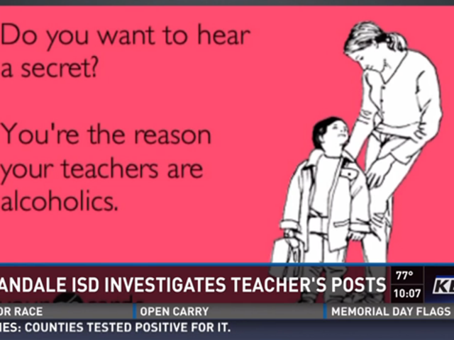 Texas Teacher Investigated For Having a Funny Pinterest Page