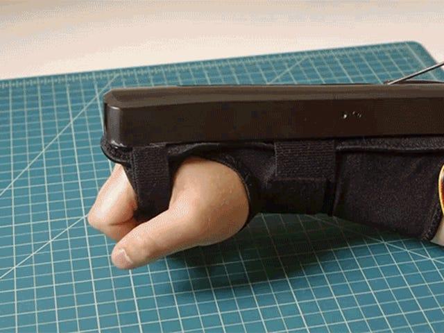 如何建立自己的肌肉控制的金刚狼爪