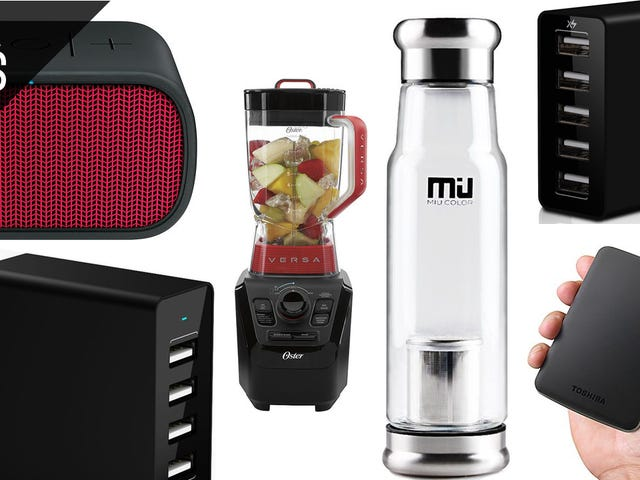 Le migliori offerte di oggi: Blender, L'altoparlante Bluetooth che desideri, Altro