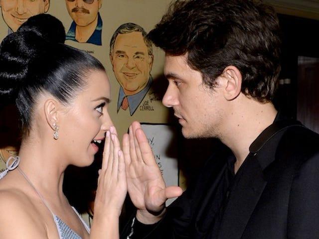 Katy Perry recluta a John Mayer para la venganza contra Taylor Swift