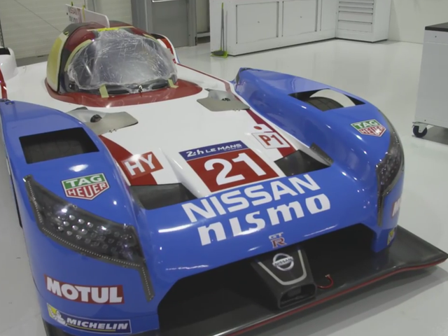Nissan Channels Their Inner 90s Kid With A Group C Livery For Le Mans