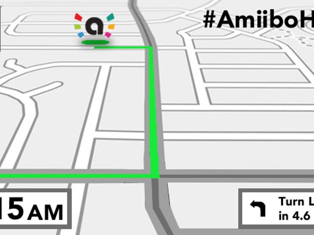 #AmiiboHunt