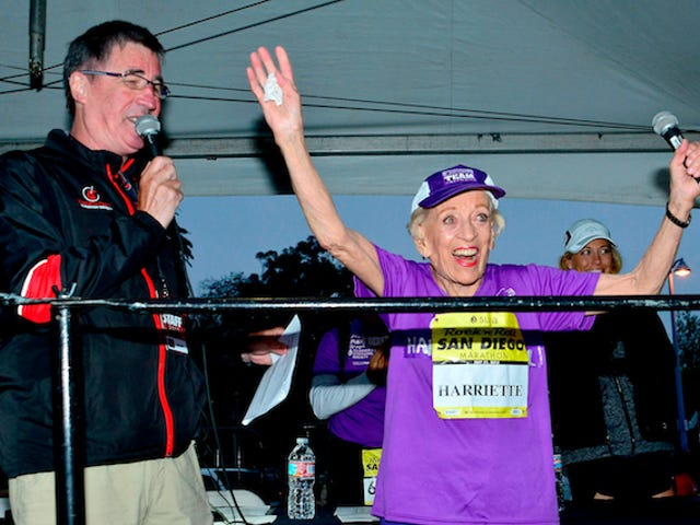 This 92-Year Old Woman Just Finished Her 16th Marathon