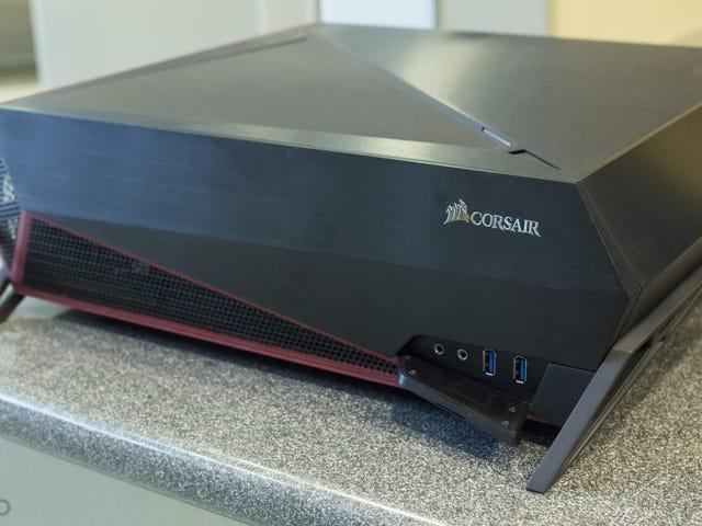 Corsair Bulldog: komputer w salonie z twarzą tylko gracz może pokochać