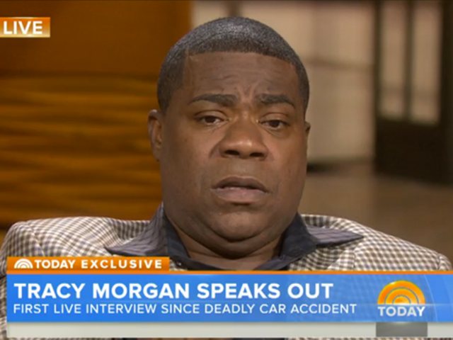 Tracy Morgan's Tearful Post-Crash Interview: 'I Can't Believe I'm Here'