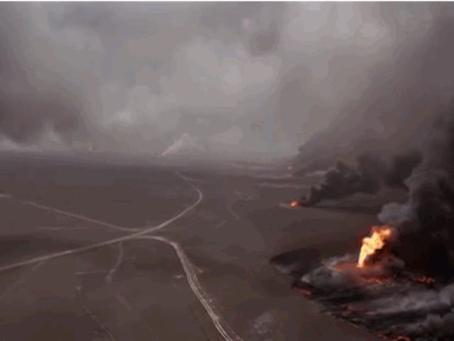 An Ecological Horror Show: Footage Of The World's Largest Oil Spills