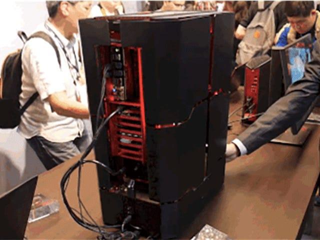 Denne Crazy Shape-Shifting PC er Gaming Rig Optimus Prime vil bruge
