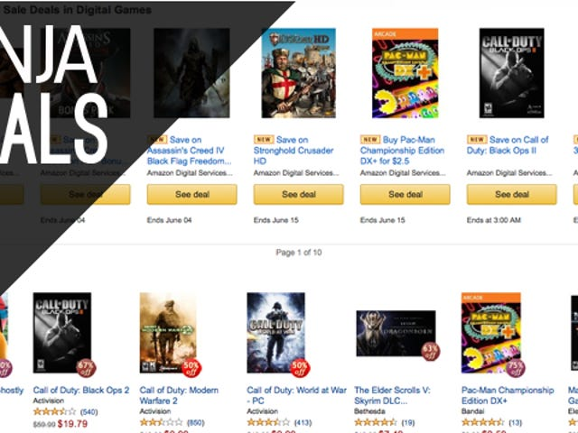 Today's Best Gaming Deals: Amazon Summer Games Sale, Xbox LIVE, More