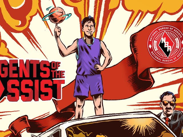 Assist Legend John Stockton Makes An Amazing Comic Book Hero