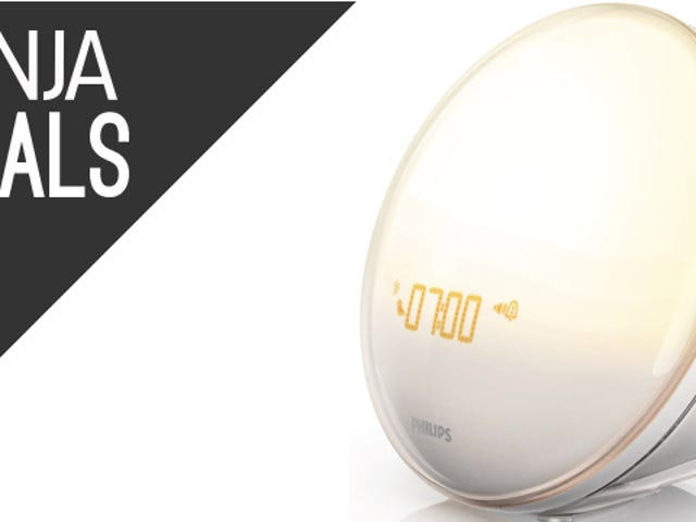 The Life-Changing, High-End Philips Wake-Up Light Is On Sale Today