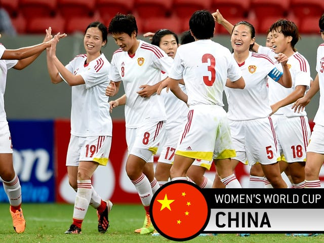 Den engang store, nå ukjente Kina kvinners nasjonale lag