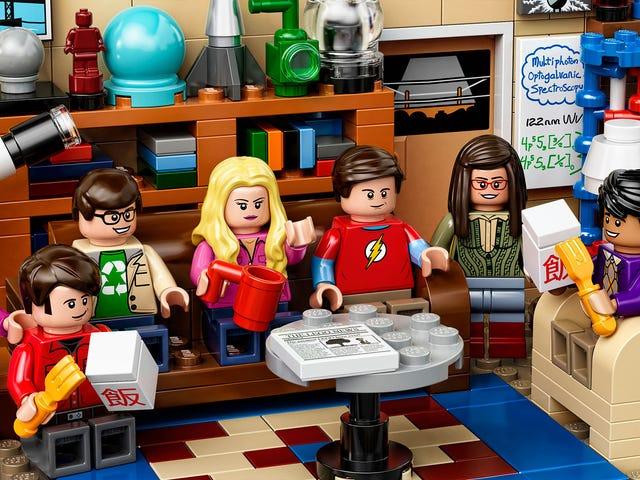 <i>Big Bang Theory</i> chính thức LEGO Set trông lúng túng Cozy