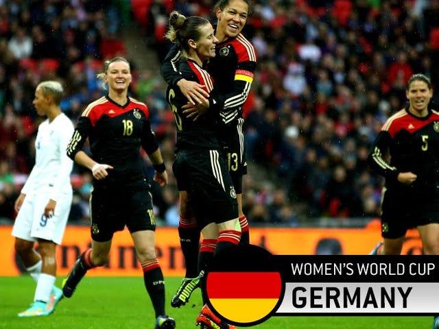 Tyskland er en Steamroller, og de forventer å vinne alt