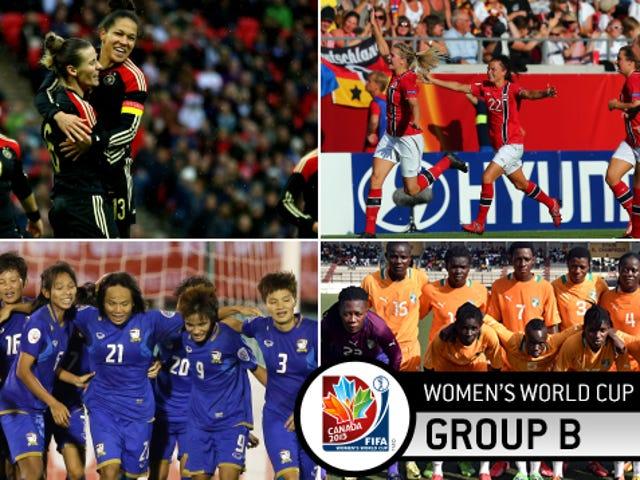 Pratonton Kumpulan B Piala Dunia Wanita: Jerman Akan Melangkah Beberapa Matlamat