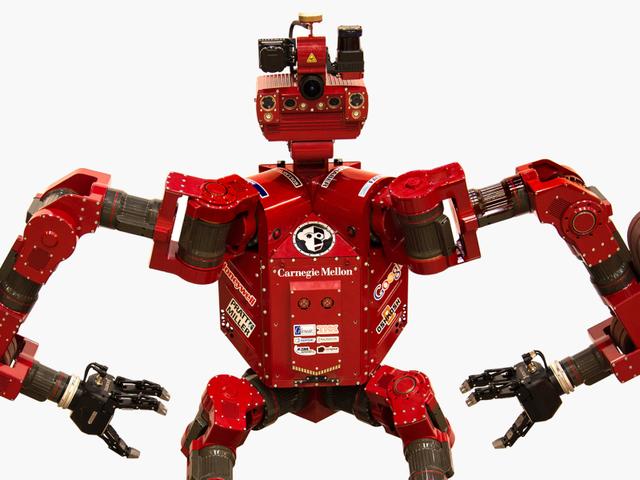 Die Roboter können an der <i>Darpa Robotics Challenge</i>