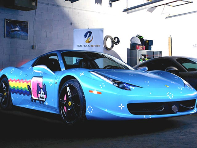 Ferrari Sent Deadmau5 A Cease And Desist About His 'Purrari'