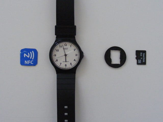 Add an NFC Tag to a Watch for Easy Access Anywhere