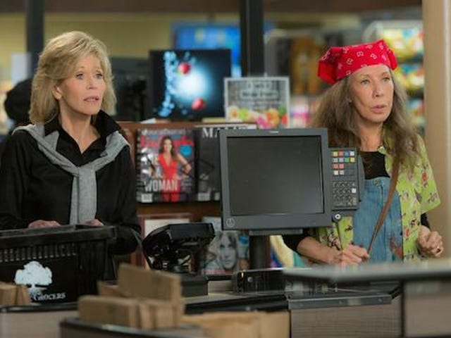 Netflix Pays Jane Fonda and Lily Tomlin the Same as Supporting Actors