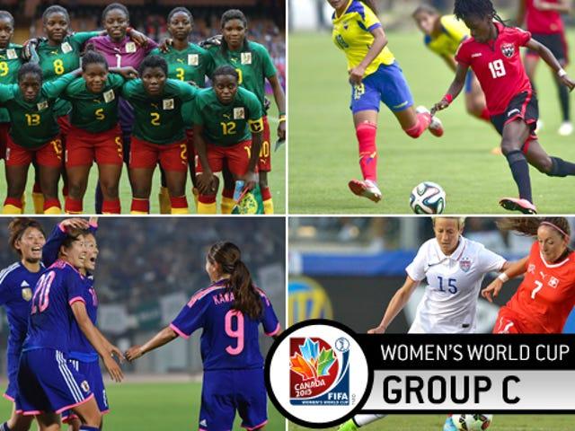 Vista previa del Grupo C de la Copa Mundial Femenina: Los campeones y un grupo de novatos