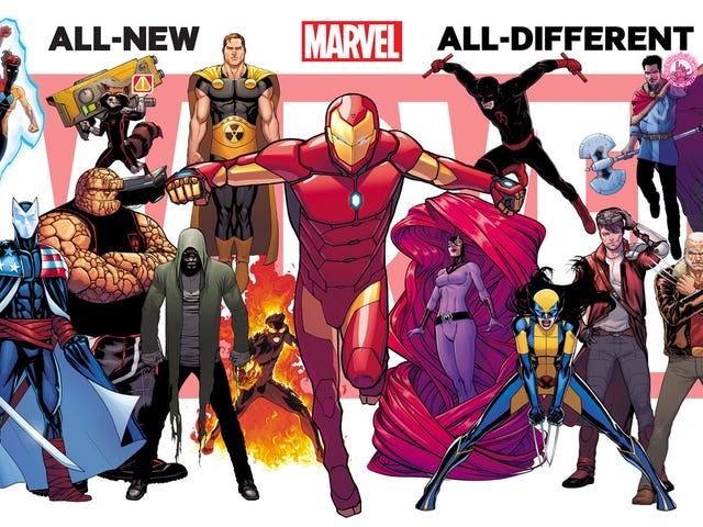 """La nueva imagen de """"Marvel, completamente nueva y diferente"""" nos brinda algo nuevo"""