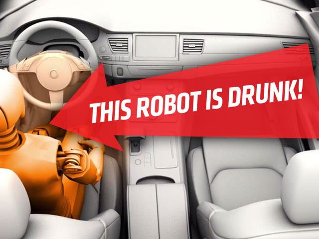 In The Future Your Car Will Know If You're Drunk