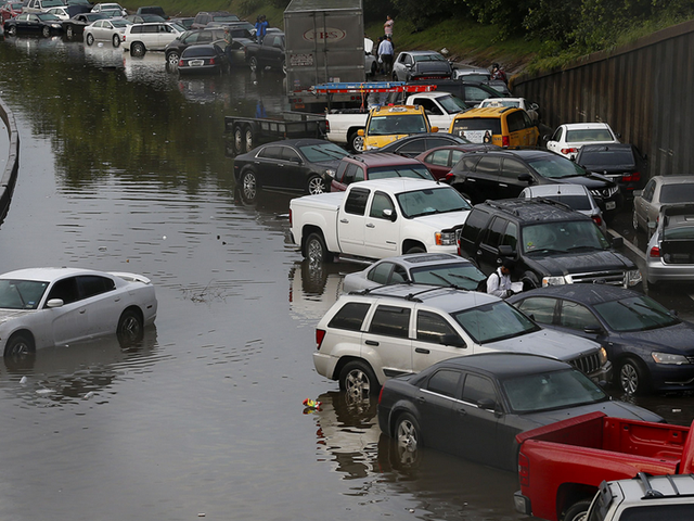 Buyer Beware: 10,000 Flood-Damaged Texas Cars Could Hit The Market