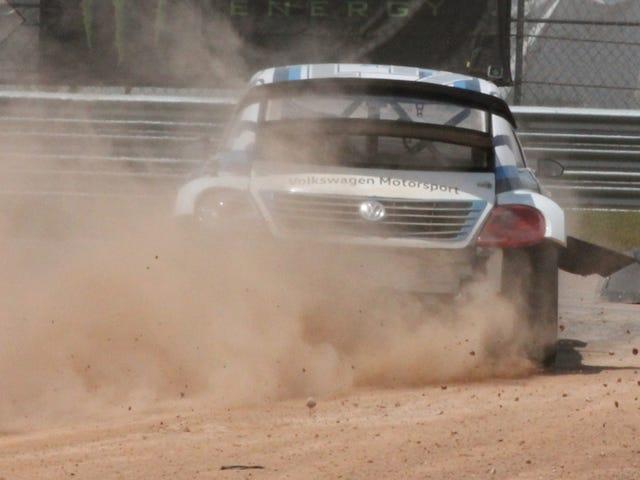 โฟล์คสวาเกน Rallycross ซึ้งในที่สุดดูเหมือนว่าโฟล์คสวาเกนออฟโรด