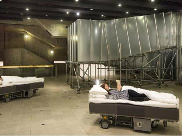 Roving Robotic Beds er den bedste måde at pendle mens du sover
